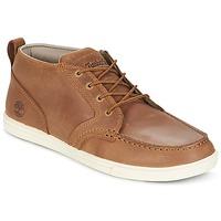 Zapatos Hombre Zapatillas bajas Timberland FULK LP CHUKKA MT LEATHER Marrón