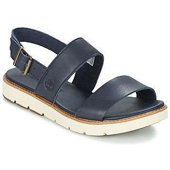 Zapatos Mujer Sandalias Timberland BAILEY PARK SLINGBACK Marino