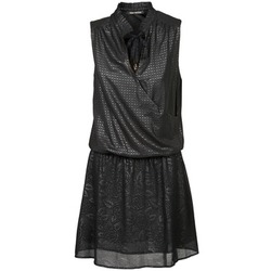 textil Mujer vestidos cortos Fornarina ELODIE Negro
