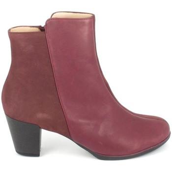 Zapatos Mujer Botines TBS Katelyn Bordeaux Rojo