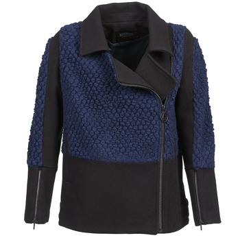 textil Mujer cazadoras Eleven Paris FLEITZ Negro / Azul