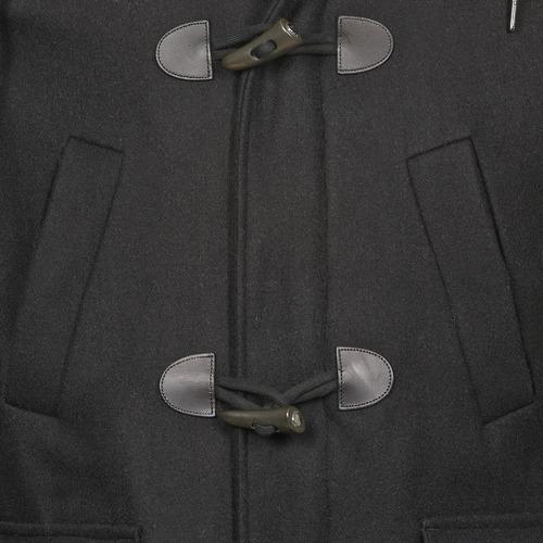 Negro Kinci Paris Hombre Abrigos Textil Eleven 35jLA4Rq
