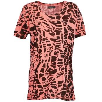 textil Mujer camisetas manga corta Religion HAWK Rojo / Negro