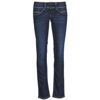 textil Mujer vaqueros rectos Pepe jeans VENUS Azul / H06