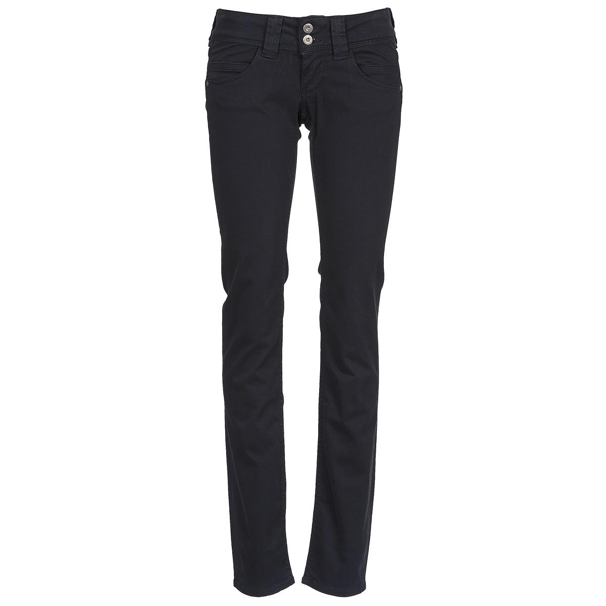 Pepe jeans VENUS Negro   999 - Envío gratis con Spartoo.es ! - textil  pantalones con 5 bolsillos Mujer 80 86f0e787fd41