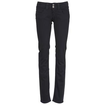 textil Mujer pantalones con 5 bolsillos Pepe jeans VENUS Negro / 999