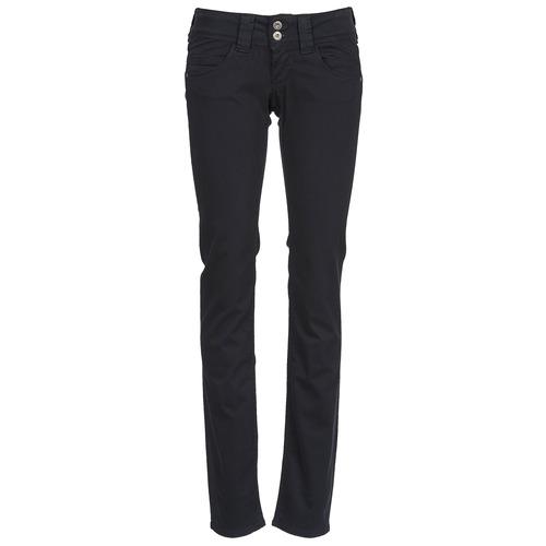 Pepe jeans VENUS Negro / 999 - Envío gratis | ! - textil pantalones con 5 bolsillos Mujer