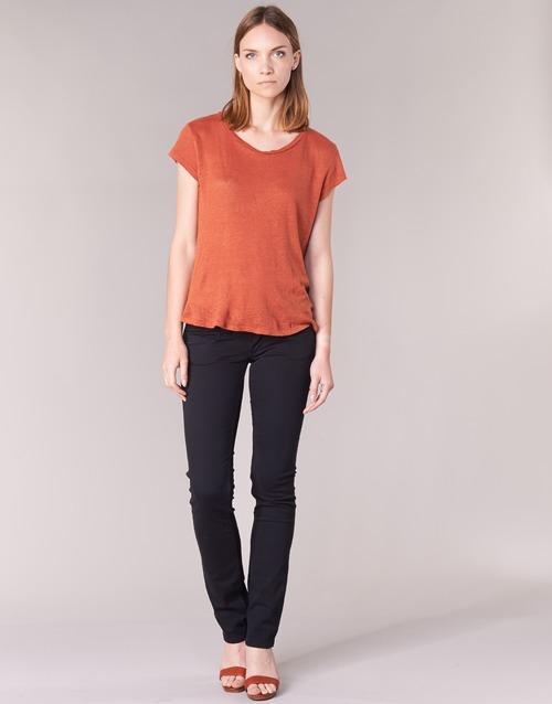 Pepe Jeans Venus Negro 999 Envio Gratis Spartoo Es Textil Pantalones Con 5 Bolsillos Mujer 71 92