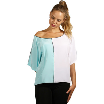 textil Mujer Tops / Blusas Miss Pepa Blusa Verde Tirza Verde