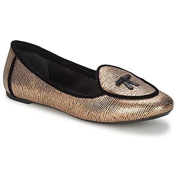 Zapatos Mujer Bailarinas-manoletinas Etro 3078 Dorado