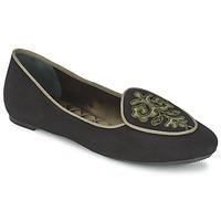 Zapatos Mujer Bailarinas-manoletinas Etro 3059 Negro / Kaki