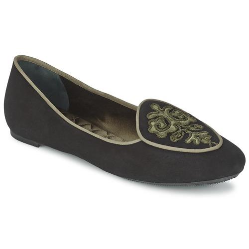 Zapatos promocionales Etro 3059 Negro / Kaki  Gran descuento