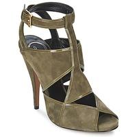 Zapatos Mujer Sandalias Etro 3025 Kaki