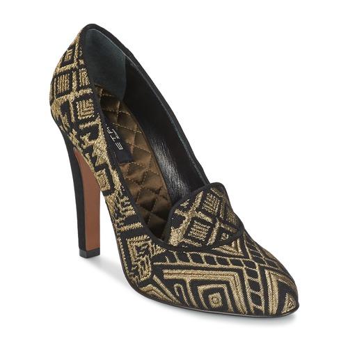Zapatos promocionales Etro 3055 Negro / Dorado  Casual salvaje