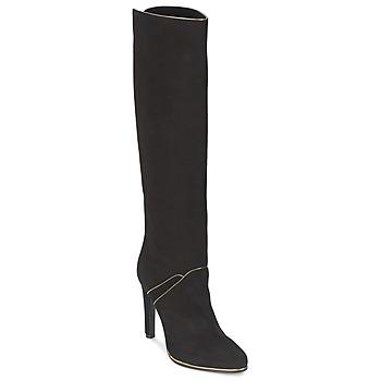 Zapatos Mujer Botas urbanas Etro 3119 Negro / Dorado