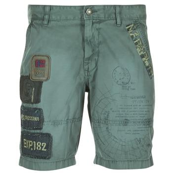 textil Hombre Shorts / Bermudas Napapijri NARWEE Kaki