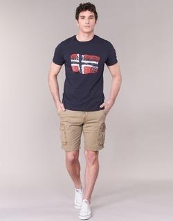 textil Hombre Shorts / Bermudas Napapijri NON Beige