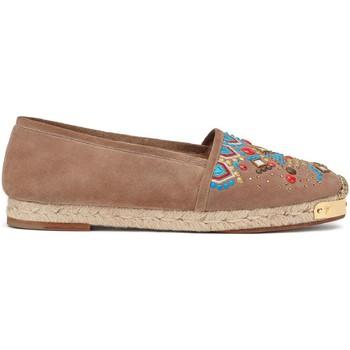 Zapatos Mujer Alpargatas Giuseppe Zanotti E66084 CAPPUCCINO Marrone chiaro