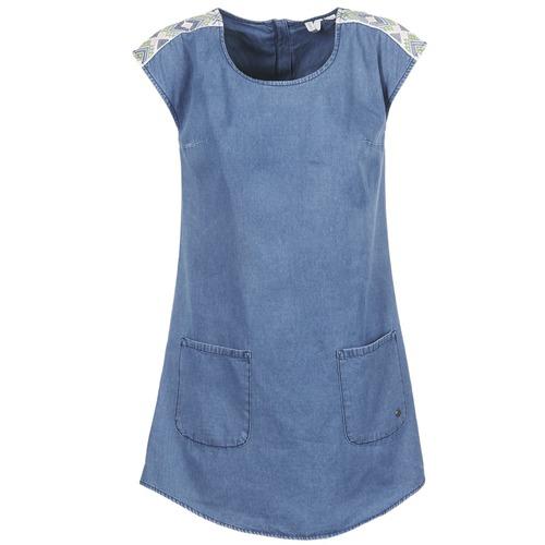 textil Mujer vestidos cortos Roxy AFTERSURFING Azul