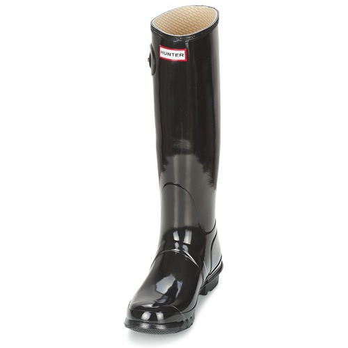 Agua Women's Mujer Negro Hunter Gloss Original Tall De Zapatos Botas QoECxBerWd