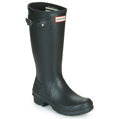 Zapatos Niños Botas de agua Hunter ORIGINAL KIDS Negro