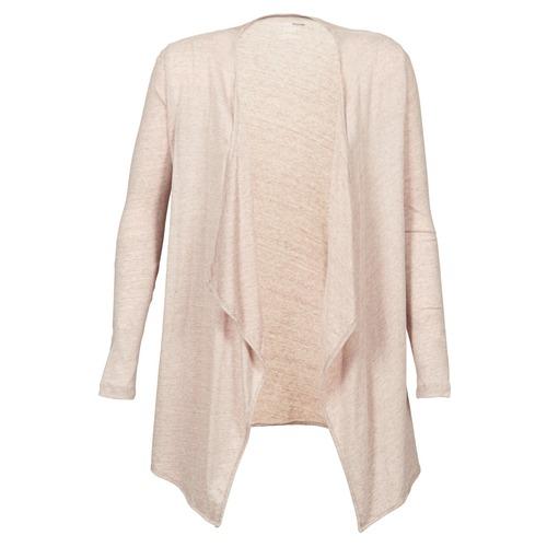 textil Mujer Chaquetas de punto Majestic 518 Beige