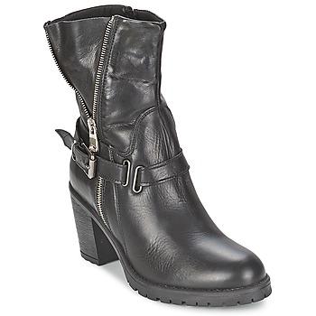 Zapatos Mujer Botines Casual Attitude FANYE Negro