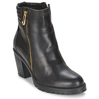 Zapatos Mujer Botines Casual Attitude ELE Negro
