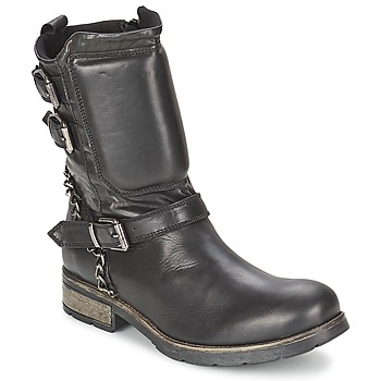 Zapatos Mujer Botas de caña baja Casual Attitude SERIS Negro