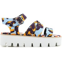 Zapatos Mujer Sandalias Msgm 2042MDS62 014 multicolore