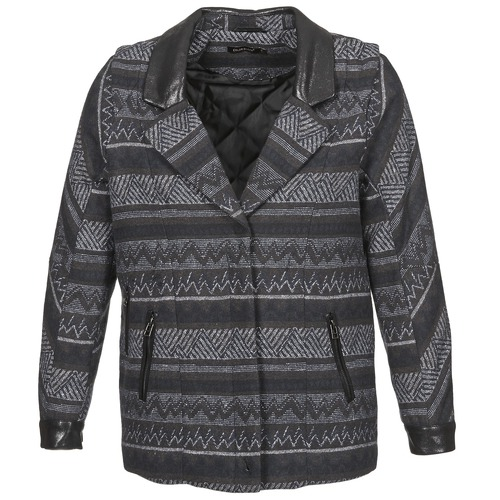 Color Block ALTONA Negro - Envío gratis | ! - textil Abrigos Mujer