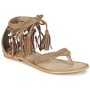 Zapatos Mujer Sandalias Vero Moda VMKAYA LEATHER SANDAL Cognac