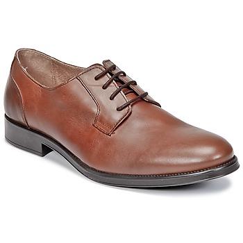 Zapatos Hombre Derbie Selected OLIVER Cognac