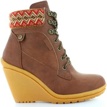 Zapatos Mujer Botines Refresh 61500 Marrón