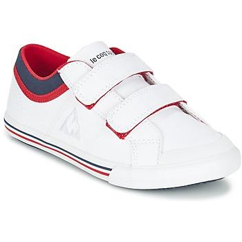 Zapatos Niño Zapatillas bajas Le Coq Sportif SAINT GAETAN PS CVS Blanco / Rojo