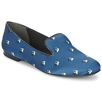 Zapatos Mujer Bailarinas-manoletinas Kenzo 2SL110 Azul / Marino