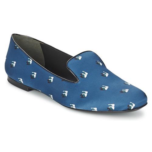 Casual salvaje Zapatos especiales Kenzo 2SL110 Azul / Marino