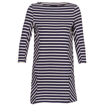 textil Mujer vestidos cortos Petit Bateau LESS Marino / Beige