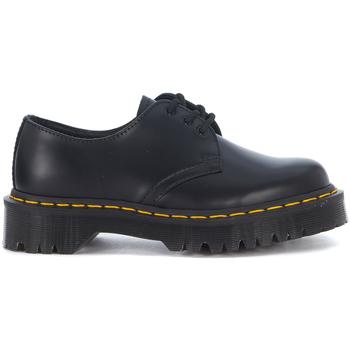 Zapatos Mujer Derbie Dr Martens Zapato con cordones Bex 1461 tres agujeros en piel negra Negro