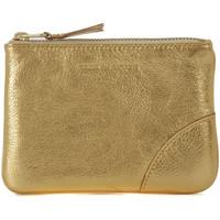 Bolsos Mujer Monedero Comme Des Garcons Bolso de mano Wallet Comme des Garçons en piel oro Dorado