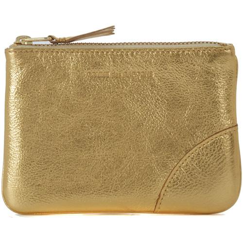 Bolsos Cartera Comme Des Garcons Bolso de mano Wallet Comme des Garçons en piel oro Dorado
