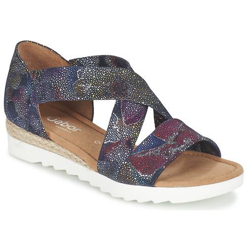 Zapatos Mujer Sandalias Gabor WOLETTE Azul / Violeta