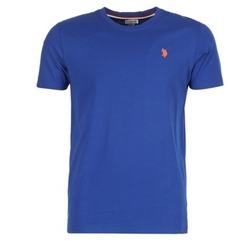 textil Hombre camisetas manga corta U.S Polo Assn. DBL HORSE Azul