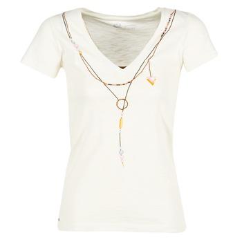 textil Mujer camisetas manga corta Oxbow TWIN Blanco
