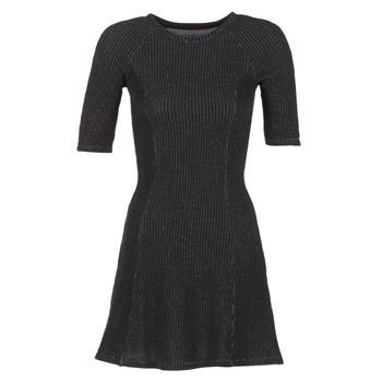 textil Mujer vestidos cortos Loreak Mendian ZENIT Negro