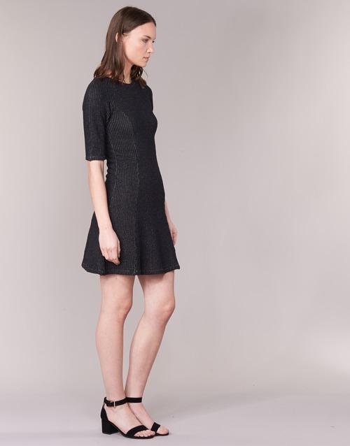 Mujer Zenit Loreak Textil Vestidos Negro Cortos Mendian CBWrdQxoe