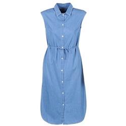 textil Mujer vestidos largos Loreak Mendian BAT ARKANSAS Azul