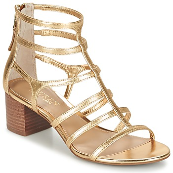 Zapatos Mujer Sandalias Ralph Lauren MADGE SANDALS DRESS Oro