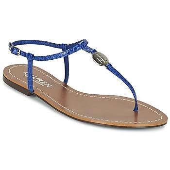 Zapatos Mujer Chanclas Lauren Ralph Lauren AIMON SANDALS CASUAL Azul