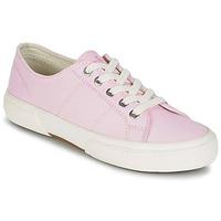Zapatos Mujer Zapatillas bajas Ralph Lauren JOLIE SNEAKERS VULC Rosa